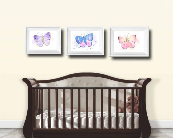 pastel nursery wall art prints