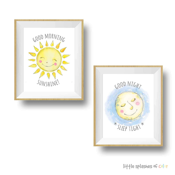 Sun and moon nursery