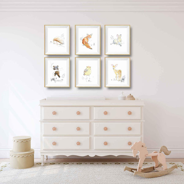 woodland creatures decor