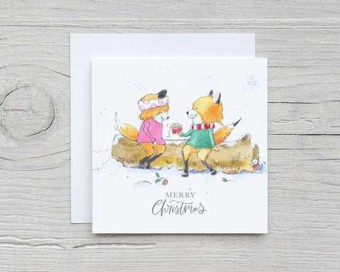 Fox Christmas Cards
