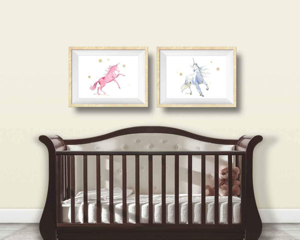 unicorn wall art prints