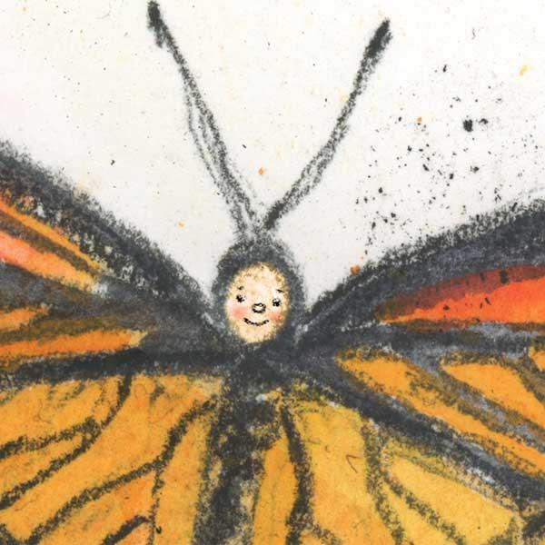butterfly art for kids rooms