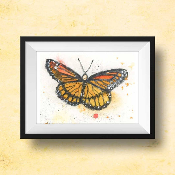 butterfly nursery art