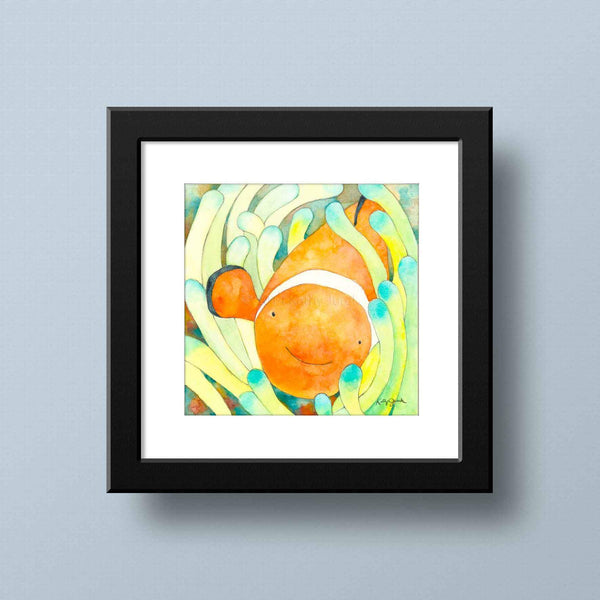 Fish Art for Bathroom