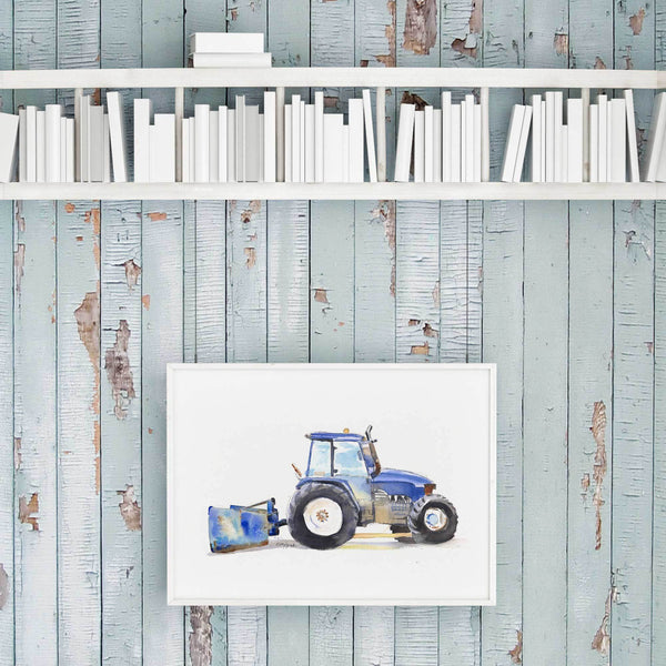 nursery decor tractor printable