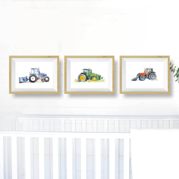 tractor decor printable