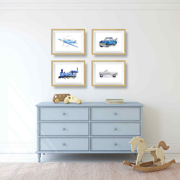 airplane wall decor nursery