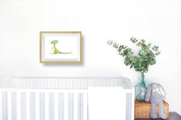 little dragon nursery decor