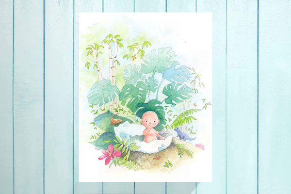 Baby Adventure Nursery Art