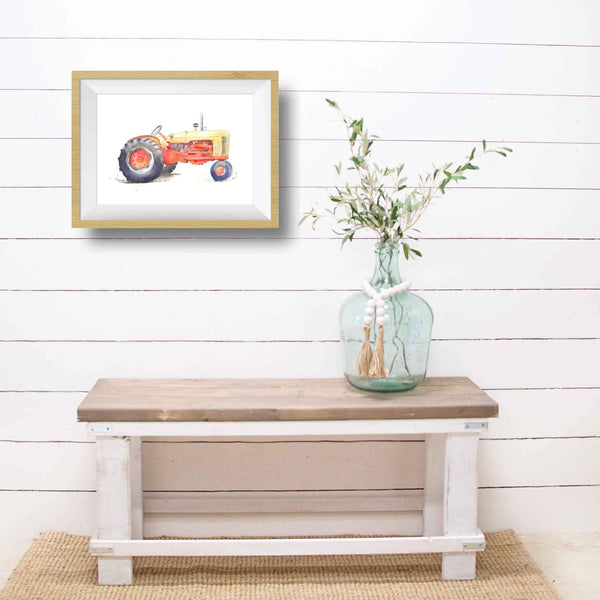 rustic tractor wall decor