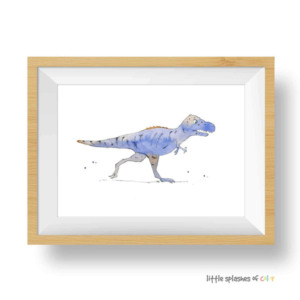 t rex wall art