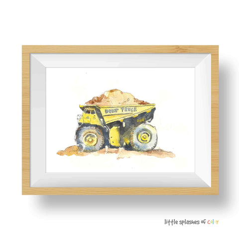 free truck printable