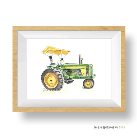 John Deere wall art