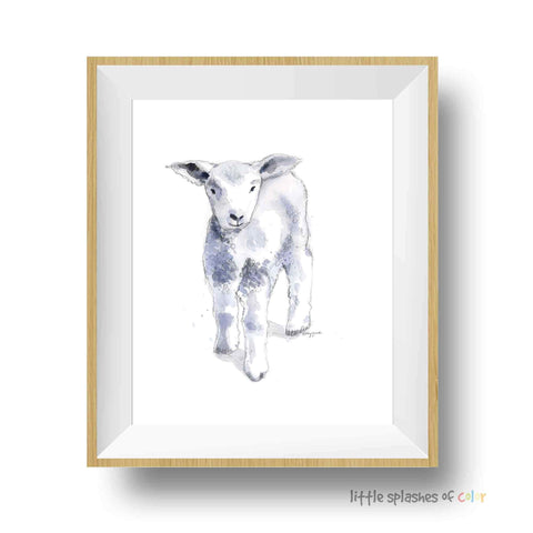 lamb nursery decor