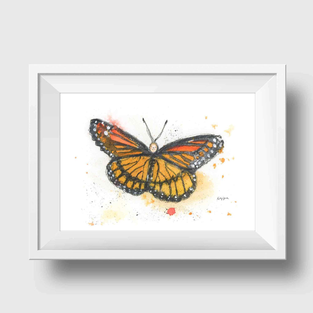 butterfly kids wall art