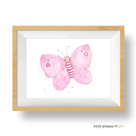 butterfly decor for baby girl nursery