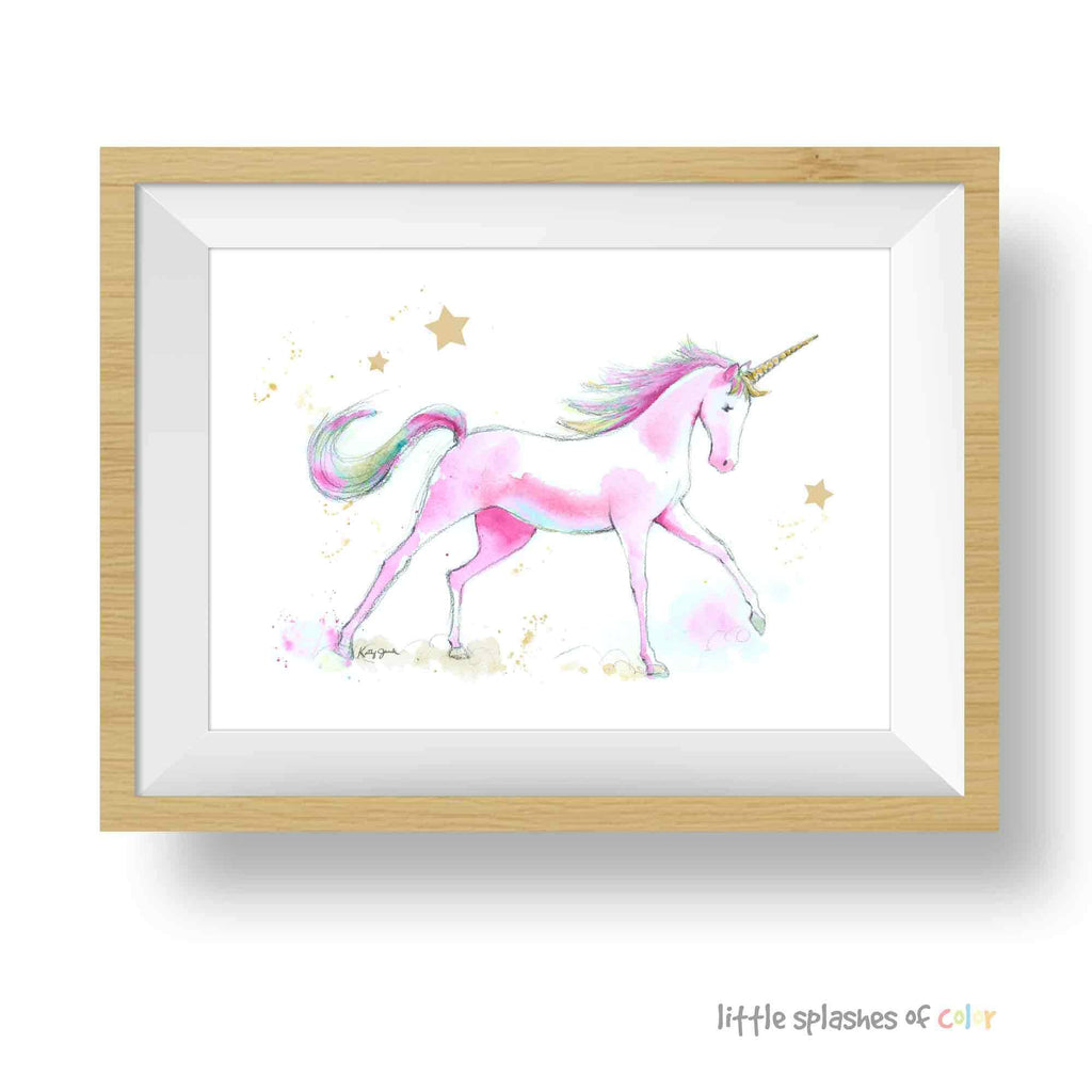 Unicorn art prints