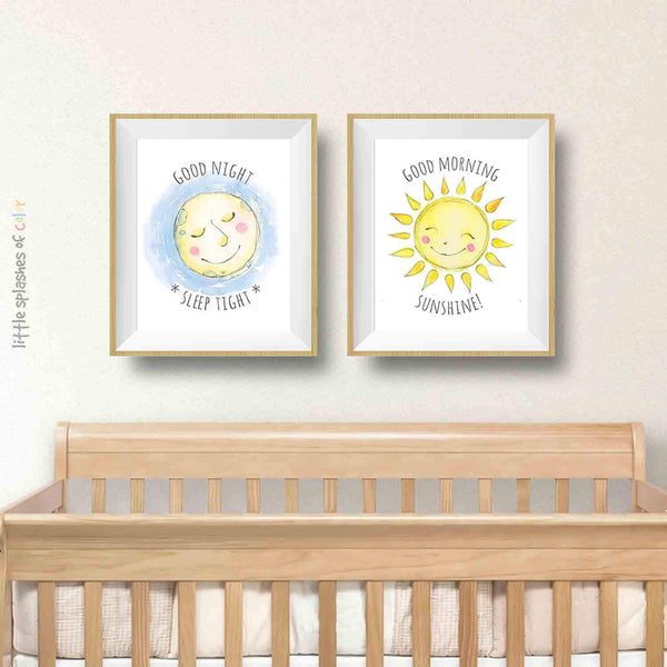 Sun moon stars wall decor
