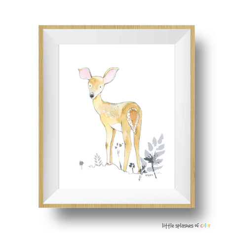 woodland animal printable