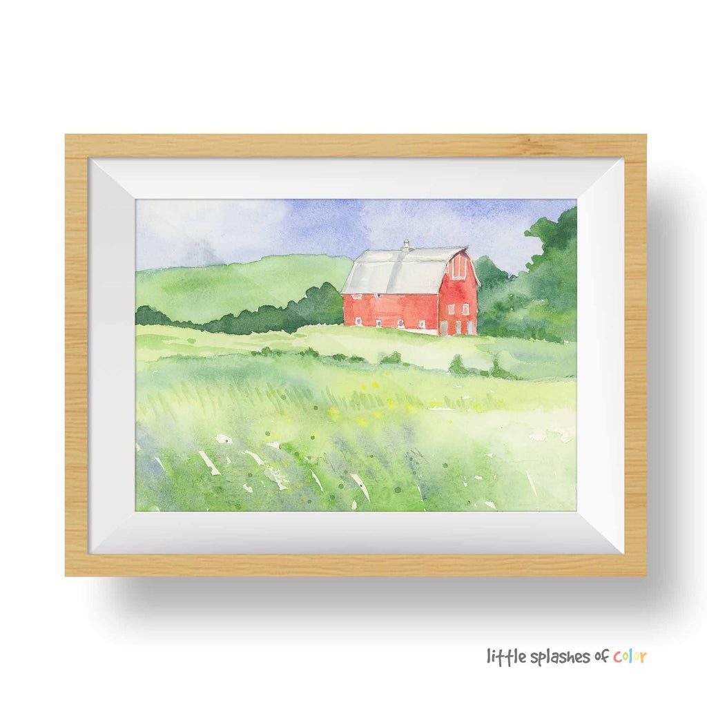 red barn wall decor