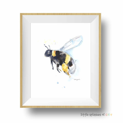 bee wall art