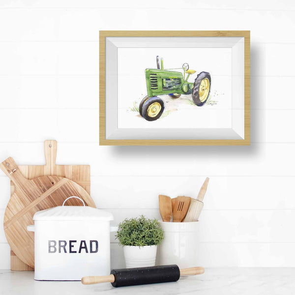 tractor wall art