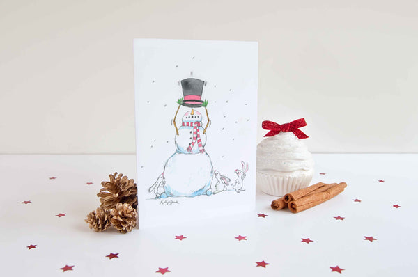 magician christmas card