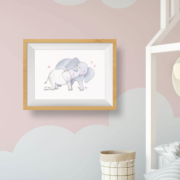 ELEPHANT BABY WALL DECOR