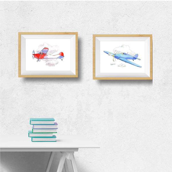 airplane decor for toddler room