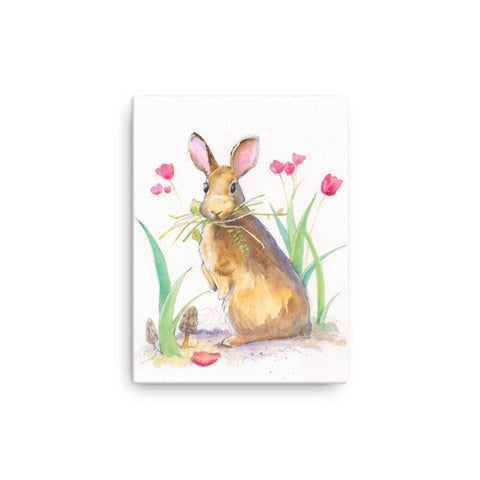Woodland Bunny Canvas Print