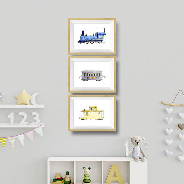 train nursery decor