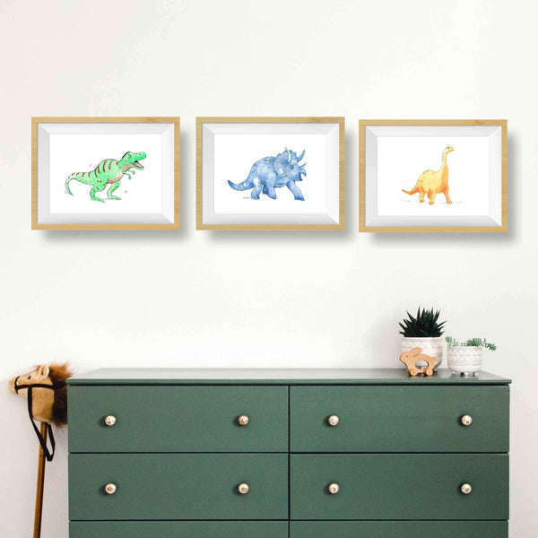 dinosaur wall art for toddlers