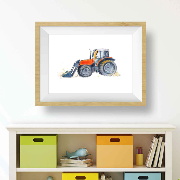 tractor toddler decor