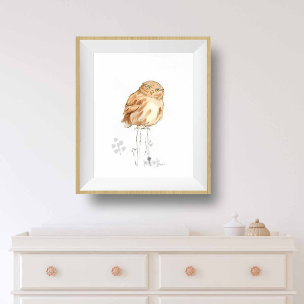 owl baby decor