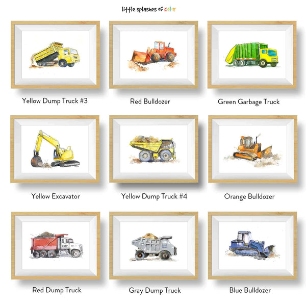 Backhoe Print (download)