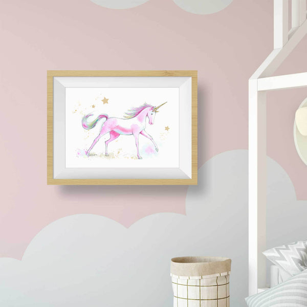 unicorn wall art print