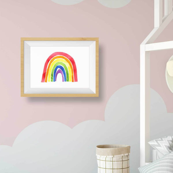 printable rainbow picture