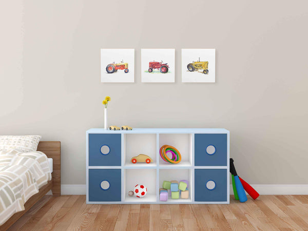 tractor nursery decor