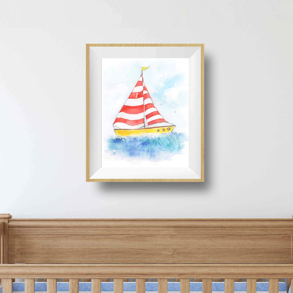 nautical theme nursery boy