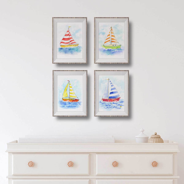 nautical baby girl nursery