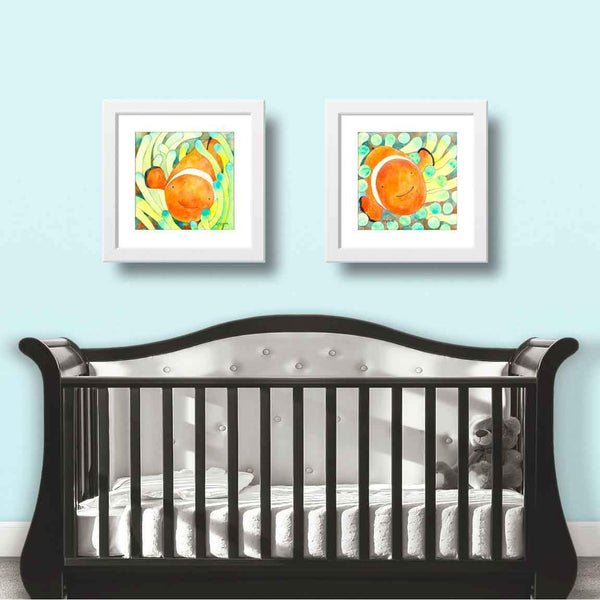 Clown Fish Wall Art Print