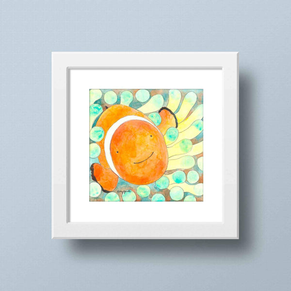 Clown Fish Home Decor
