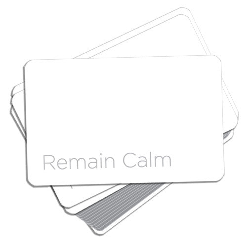 Remain Calm Card Game