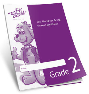 Too Good for Drugs Grade 2 Student Workbook Spanish - Pack of 25