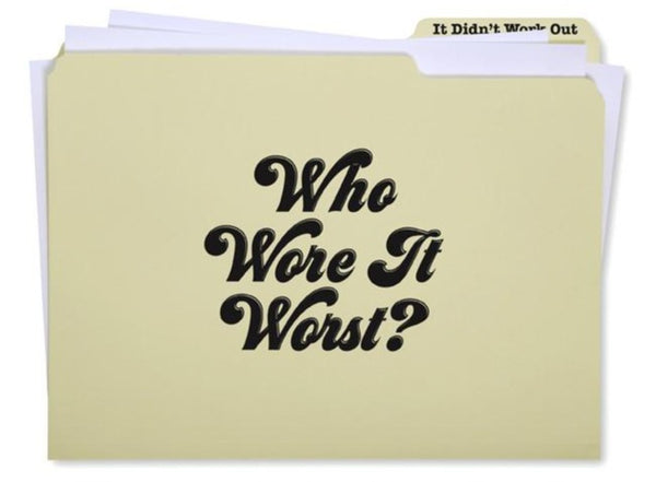 Who Wore It Worst? Session Files
