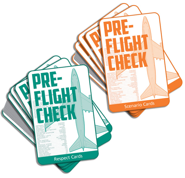 Pre-Flight Check Card Game