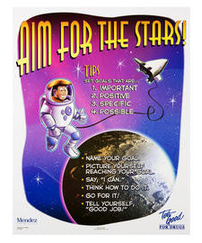Aim for the Stars Poster