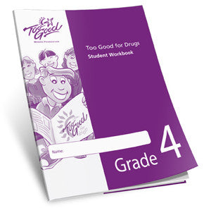 Too Good for Drugs Grade 4 Student Workbook Spanish - Pack of 25