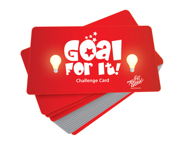 Goal for It! Game Cards