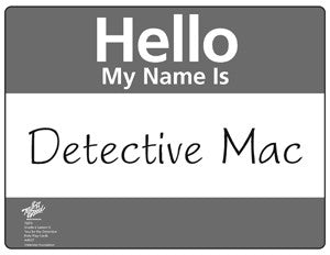 You Be The Detective Role Play